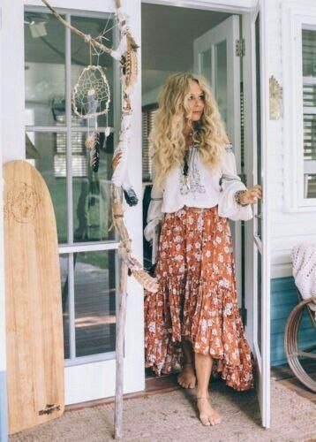 Boho Style Kleider Trends Pinterest Boho Fashion Boho And