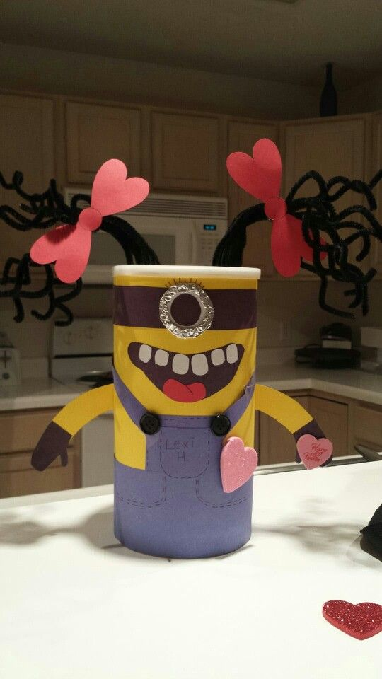 valentine's day minion stuffed animal