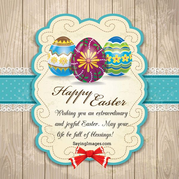 Happy Easter pictures, wishes, messages, sms and cards 2013