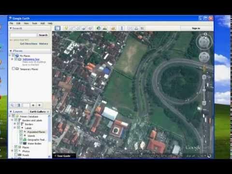 Cara Menandai Alamat Rumahmu dengan Google Earth - YouTube