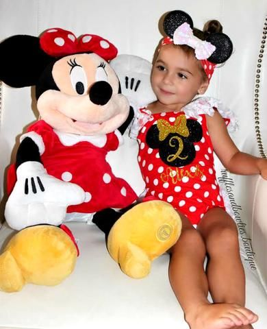 Minnie Mouse Favorite  A classic customer favourite, this adorable birthday romp…