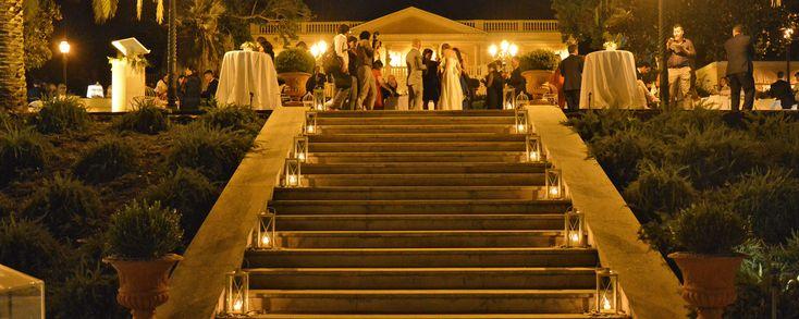 Welcome staircase at #villalalimonaia