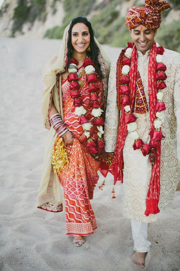 Modern Hindu Wedding  |  The Frosted Petticoat