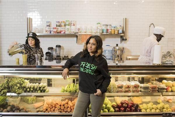 The Breakfast Club's Angela Yee Opens A Juice Bar In Bed-Stuy | BLAVITY