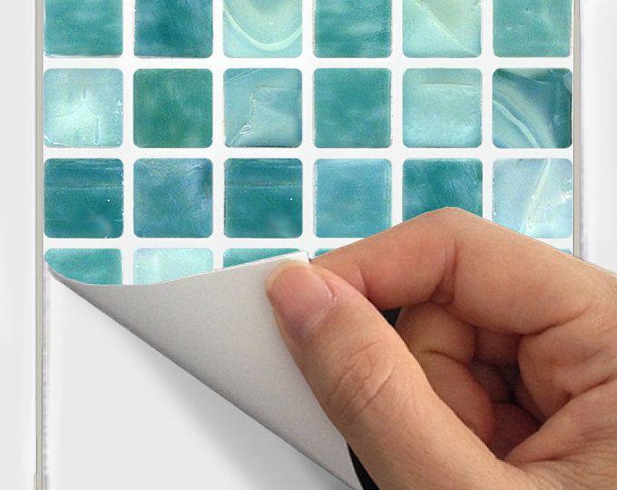 Mattonelle di adesivi in vinile Decal impermeabile rimovibile