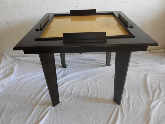 Solid Wood Domino table in 2019 | Domino Table | Domino ...
