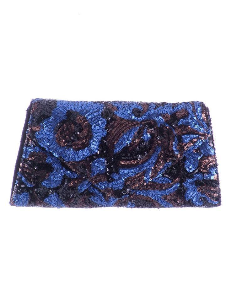 Purse Sequined tulle Composition : Sequins Dimensions : Height : 15 cm, length : 31 cm, width : 6 cm.  Adjustable shoulder strap. Phone orders : 0727 781 988