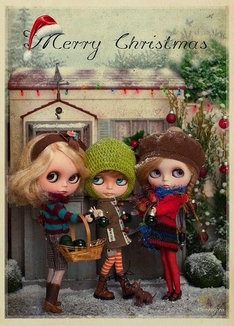 Blythe dolls by erregiro
