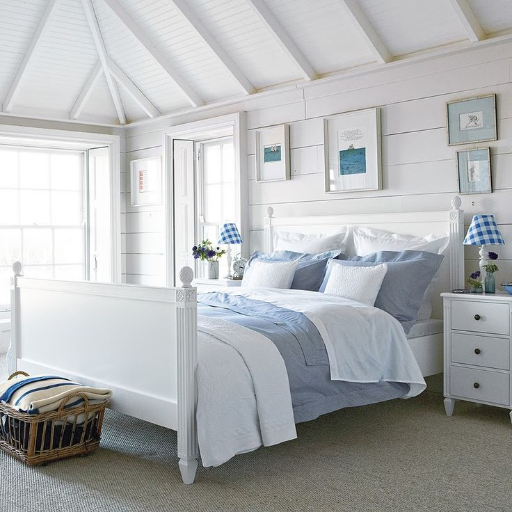 Best 25 seaside bedroom ideas on pinterest beach house for New england bedroom