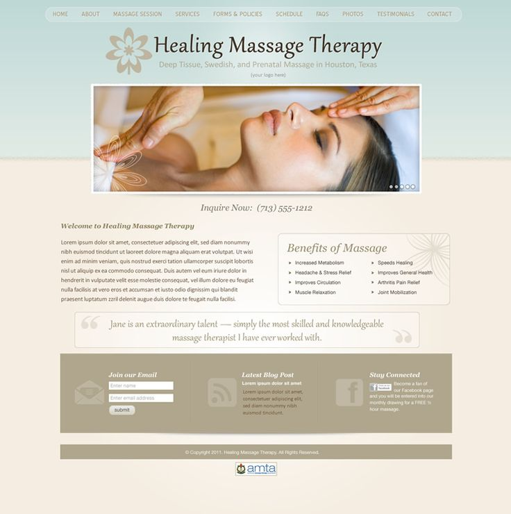 85 best massage therapist marketing ideas images on for Best massage therapy