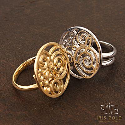 """Rings """"Spiral"""""""