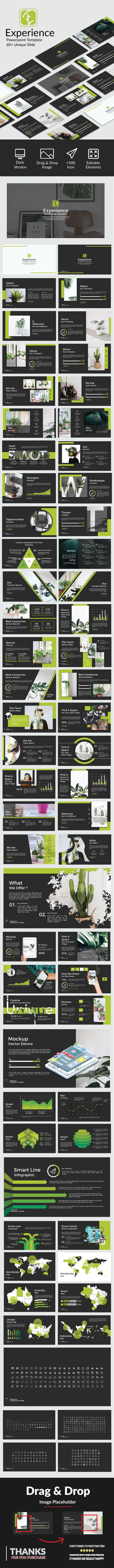 #Experience #Powerpoint - PowerPoint Templates #Presentation Templates