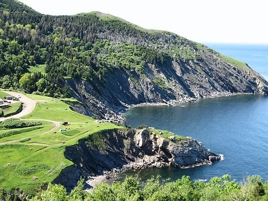 Meat Cove, Cape Breton Nova Scotia - Google Image Result for http://contrarian.ca/wp-content/uploads/2012/02/meat-cove-camp-ground.jpg