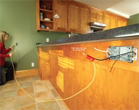 how to test electrical wiring with a continuity tester