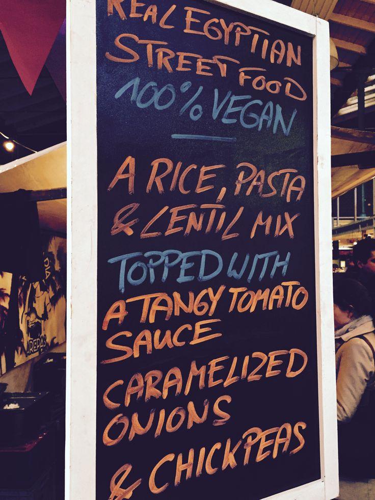 Egyptian street food at Markthalle Neun - Koshary Lux, Berlin