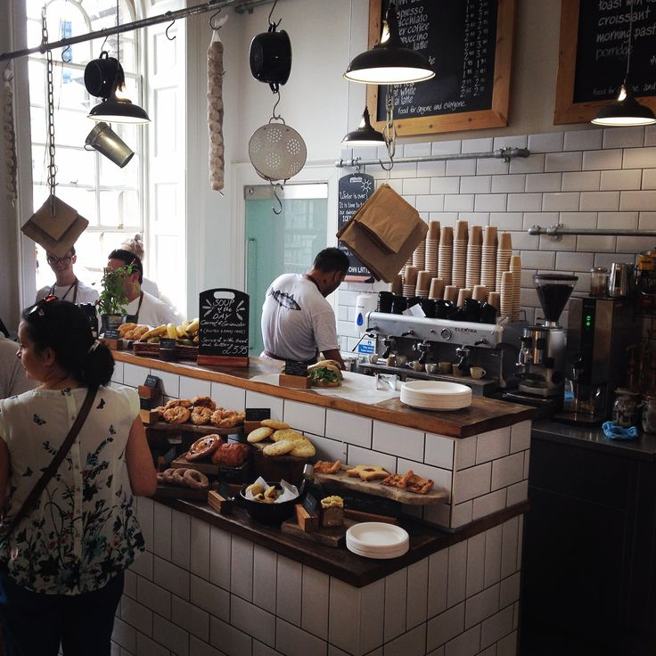 Tom's Deli at Somerset House, London. RB #cafe #deli #tomaikens