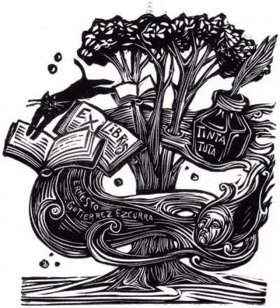 ex libris | bookplates by Eva Farji | www.bookplate.org