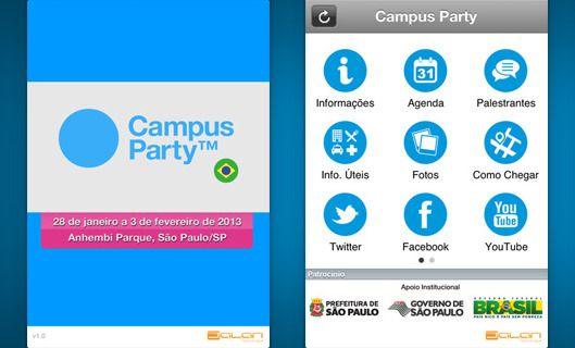 """Para quem vai aproveitar o maior evento de tecnologia do mundo, a Campus Party Brasil 2013, de28 de janeiro à 03 de fevereiro, já está disponível o download do aplicativo oficial desta edição. O app traz a agenda atualizada do evento, as informações dos palestrantes, mapa, dados dos palcos e a cobertura oficial, além de...<br /><a class=""""more-link"""" href=""""https://catracalivre.com.br/geral/rede/indicacao/baixe-o-aplicativo-da-campus-party-brasil-2013-gratuitamente/"""">Continue lendo »</a>"""