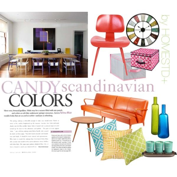"""candy scandinavian color"" by rubygrosse on Polyvore"