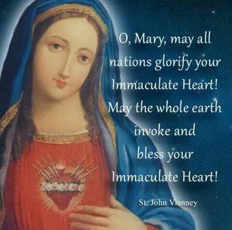Immaculate Heart of Mary - Saint John Vianney