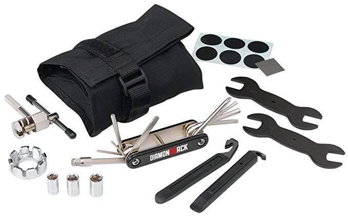 Diamondback Roll Up Bicycle Tool Kit Black Review Bicycle Tools