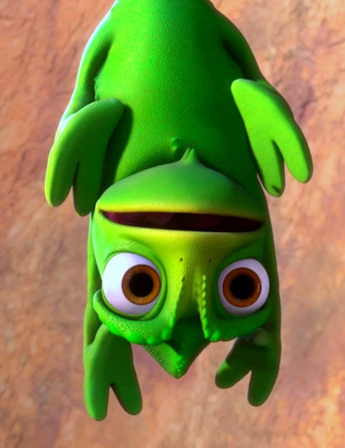 I want my man to love me like Pascal loves colors. ♥♥♥ Previous pinner posted: Pascal is so adorable.