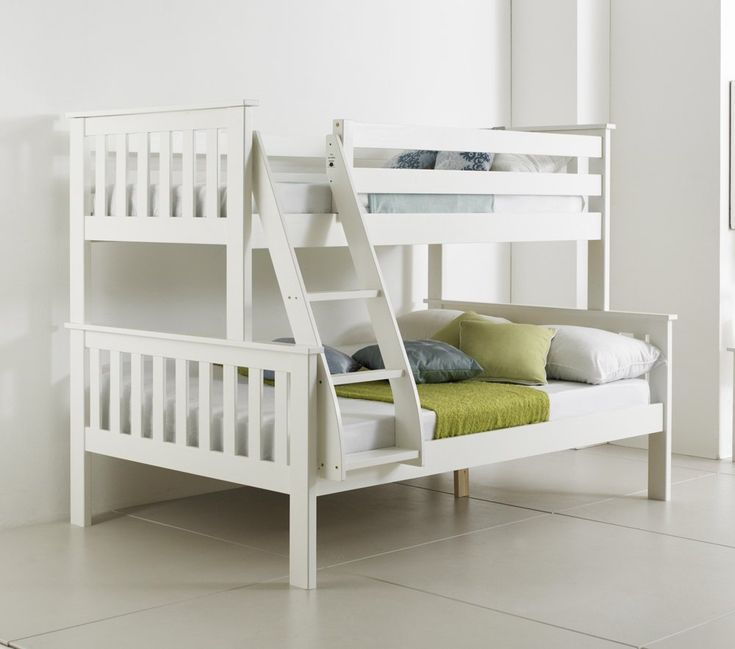 2018 White Wooden Bunk Beds - Bedroom Interior Decorating Check more at http://imagepoop.com/white-wooden-bunk-beds/