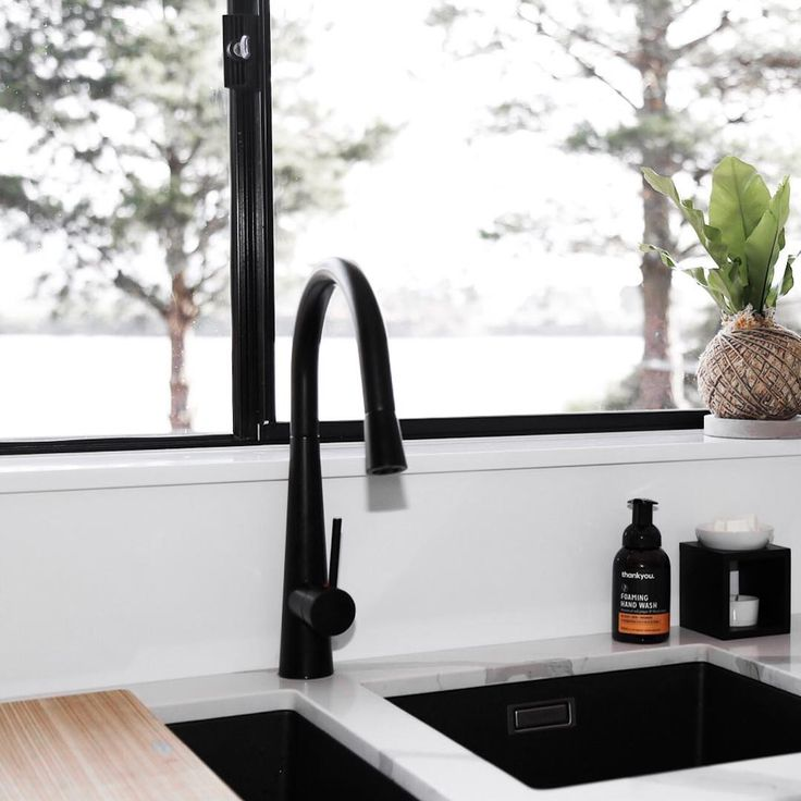 In a retreat by the serene Tasmanian waters sits our #MeirBlack Pull Out Kitchen Mixer - The home of Eliza from @taslifewithmyboys. We love hearing the stories behind your homes and even more so, how we can be apart of it. #FromOurHomeToYours . #Meir #MeirAustralia #MK07 #Tasmania