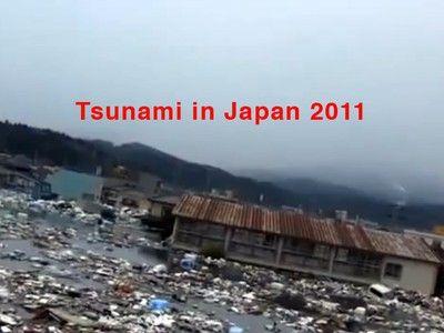 New shocking footage of Japan's 2011 mega-tsunami