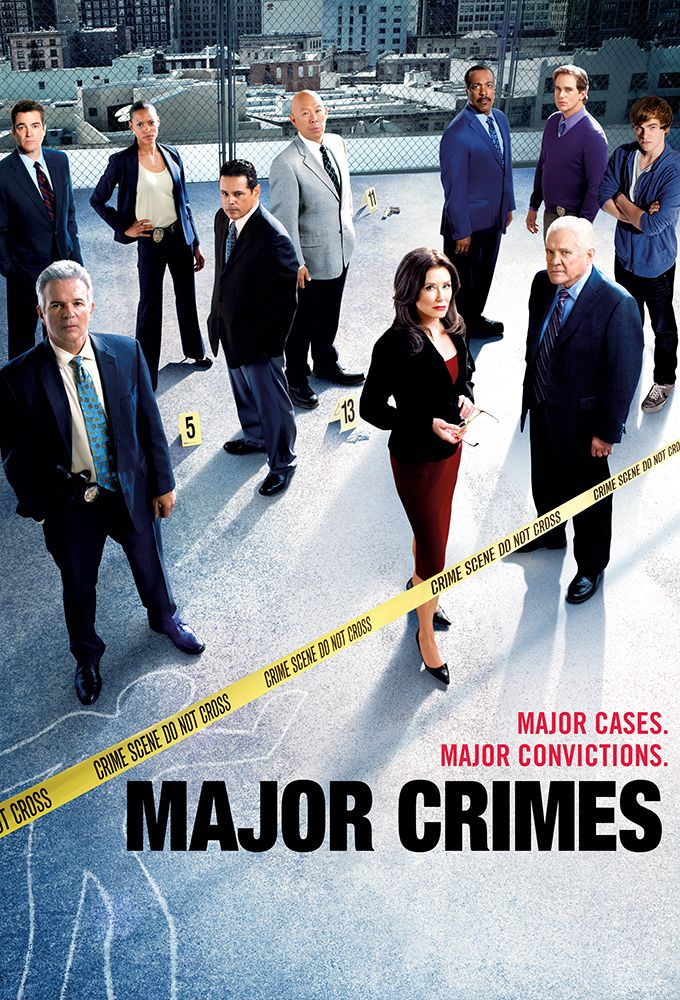 Major Crimes is an American television police procedural series starring Mary McDonnell. It is a spin-off of The Closer and premiered on TNT August 13, 2012, following the finale of The Closer. It starts back up in November.