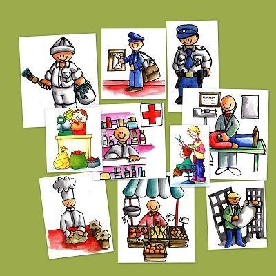 Recursos para el aula: Imágenes de oficios