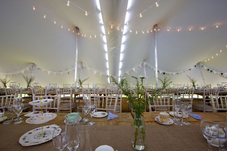 30x10m Stretch Tent. An example of how Freestretch.co.uk work to tailor make the right shape marquee for your event. #weddingdecor  #stretchtent #alternativemarquee #event #weddingvenue #eleganttent #moderntent #modernmarquee