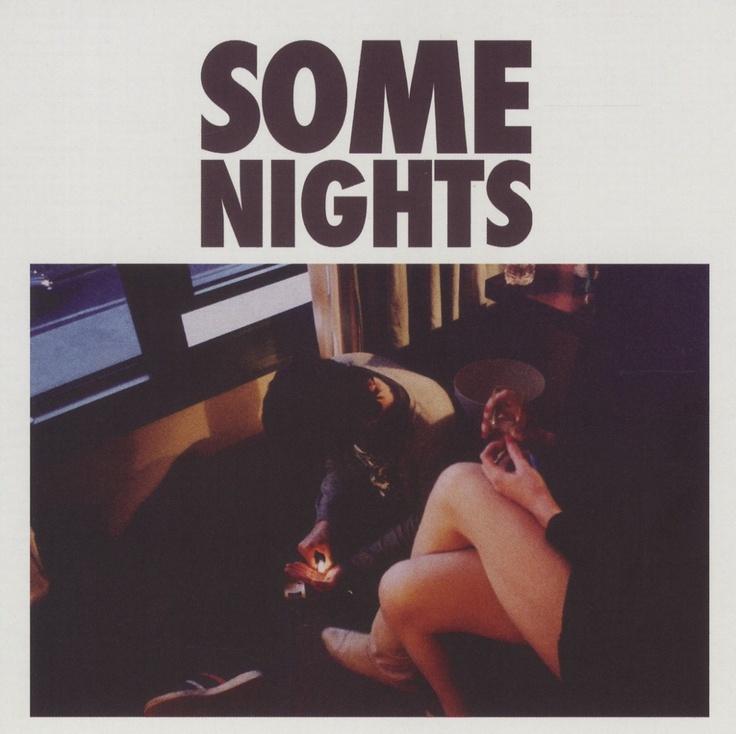 album cover art: fun. - some nights [2012]