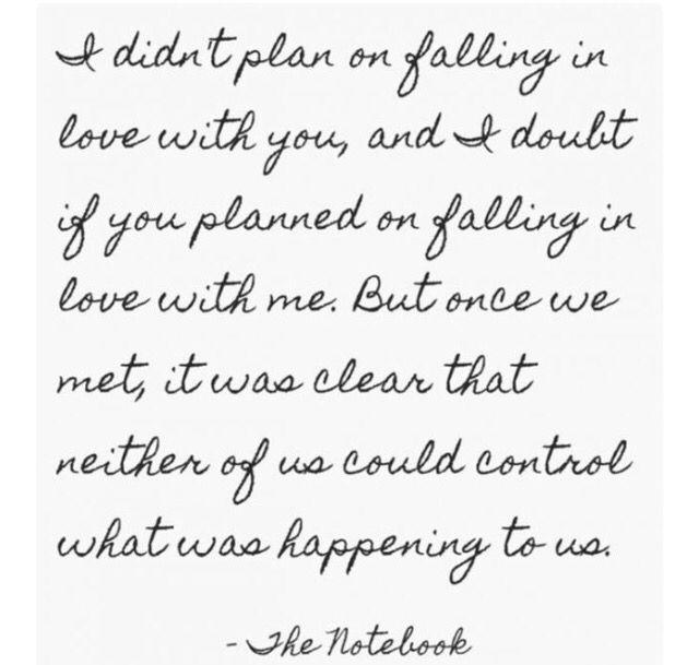 Citazioni - aforismi - frasi - love quotes - the notebook - le pagine della nostra vita