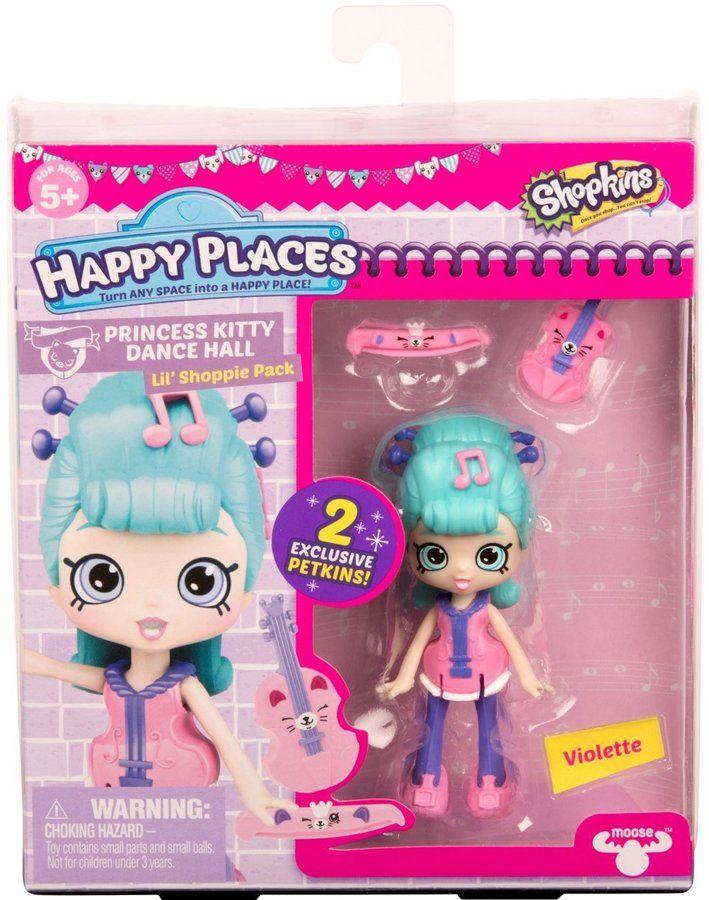 Happy Places Shopkins Season 3 Doll Single Pack Violette