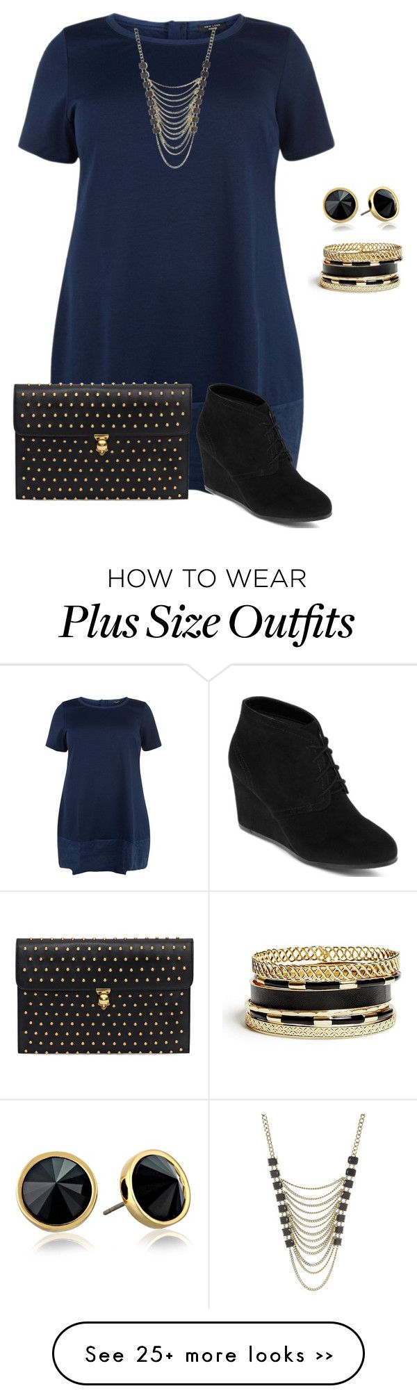 """""""plus size/simple and cute fall datenight look"""" by kristie-payne on Polyvore featuring Lane Bryant, Alexander McQueen, Trina Turk LA, GUESS and Arizona"""