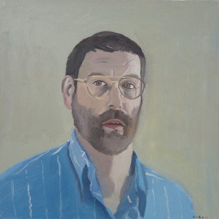 La cuenta regresiva del arte esquizofrénico de Bryan Charnley: Self Portrait Series 19th July 1991.
