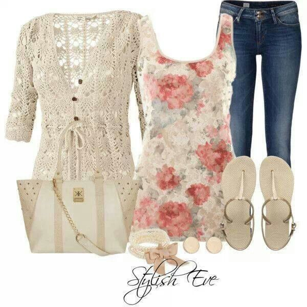 Spring outfit So pretty! by Sarah Petersen
