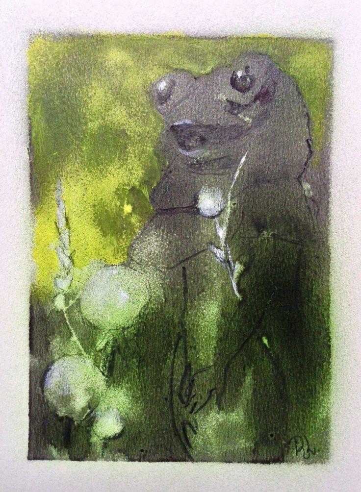 #the frog#A5#rithva.dk