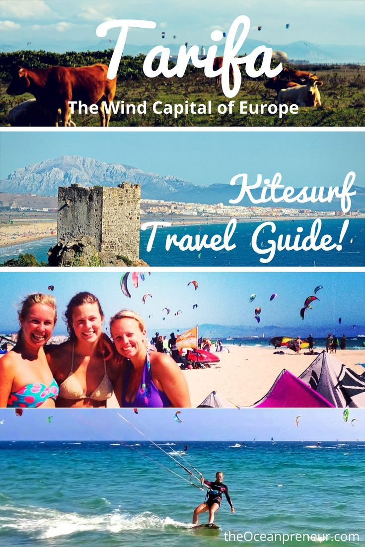 Complete guide for a Kitesurf trip to Tarifa Spain