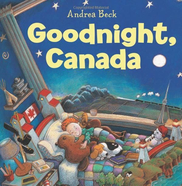 Goodnight, Canada: Andrea Beck #Books #Kids #Canada