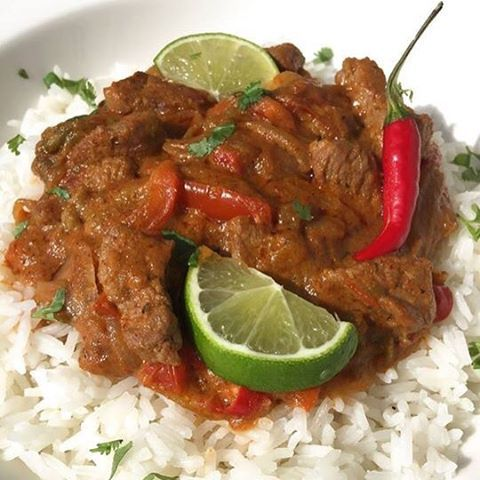 Curry Rojo de Ternera - Red Curry Beef