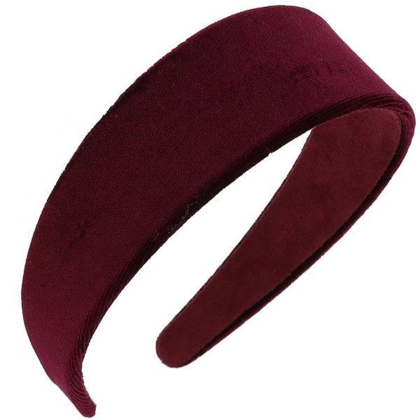 Miss Selfridge Velvet Alice Band (£12) ❤ liked on Polyvore featuring accessories, hair accessories, headband, hair, head, red, head wrap headbands, velvet headband, headband hair accessories and miss selfridge