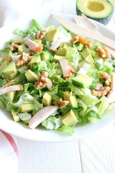 andijvie salade met avocado