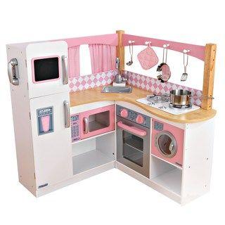 Kidkraft Grand Gourmet Corner Kitchen Play Set Kohls