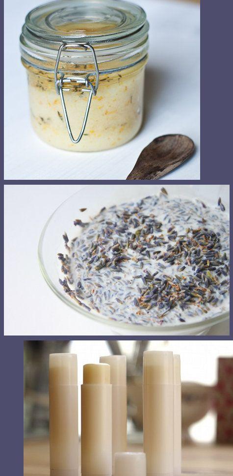 DIY Natural Skin Care Recipes - Scrub, Milk Bath and Lip Balm Recipe