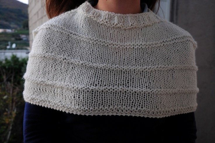 White shrug available in other color. As it's hand-made you can choose the color like black, grey, blue, red and so on. Contact me before.    Sc...