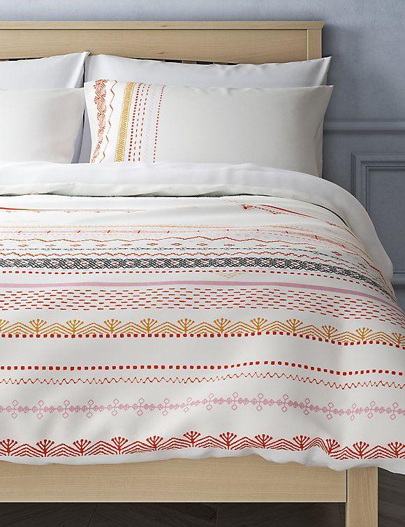 Decorative Aztec Printed Bedding Set M S Print Bedding Bedding Set Bed