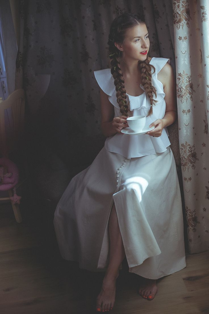Vintage romantic style. Elegant beautiful outfit. Check my blog post for more photos and the story :)