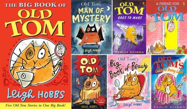Old Tom book covers - by Leigh Hobbs